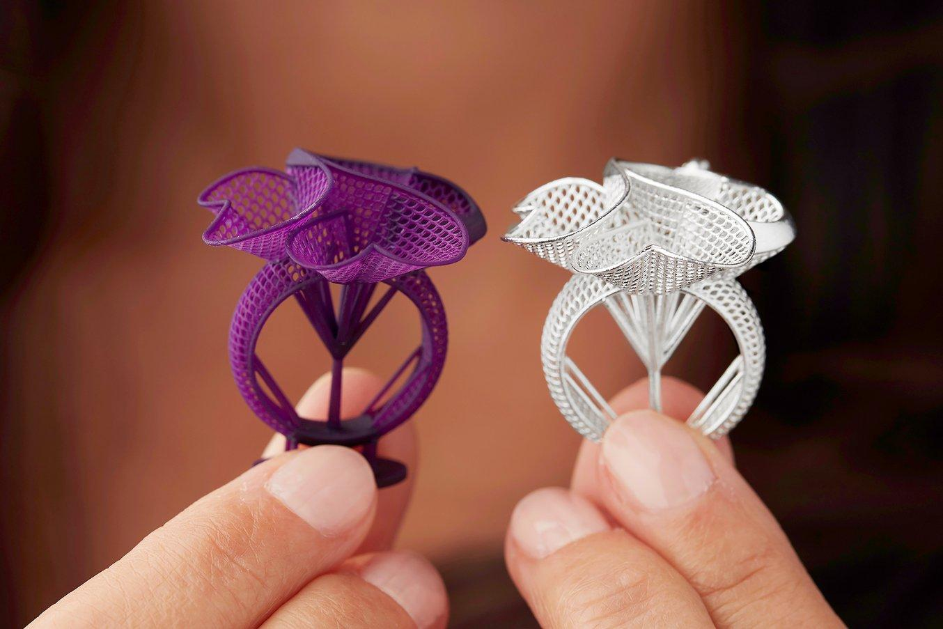 jewelry - rings molds - castable wax